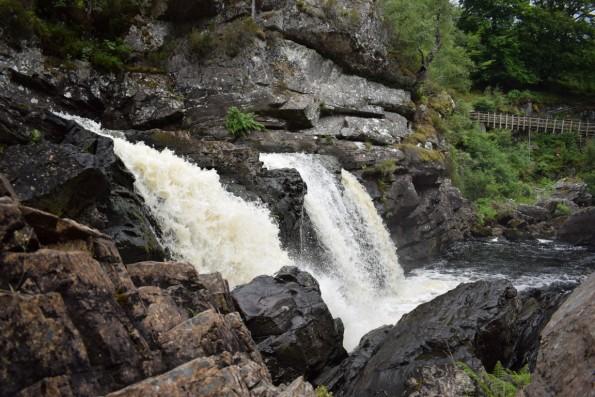 Die Rogie Falls bei Strathpeffer